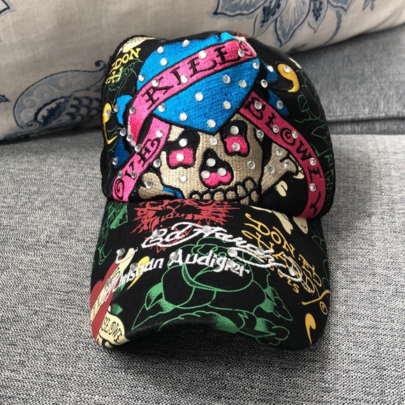 b5cc07b91e4268 Ed Hardy Accessories   Trucker Hat   Poshmark
